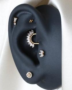 Curated Ear Daith Piercing