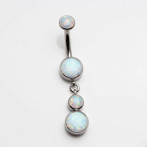 Opal Bauchnabelstecker