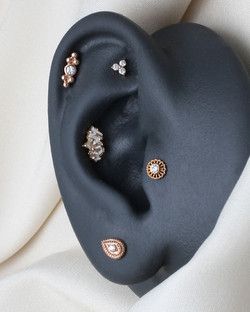 Curated Ear Rosegold