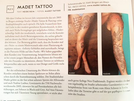 Madet Tattoo im Tätowier Magazin