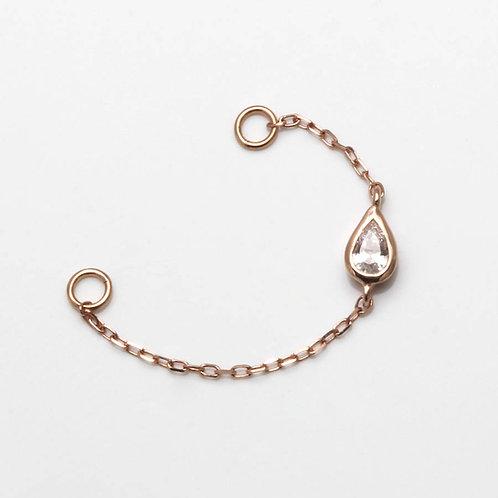 Buddha Jewelry Teardrop Chain
