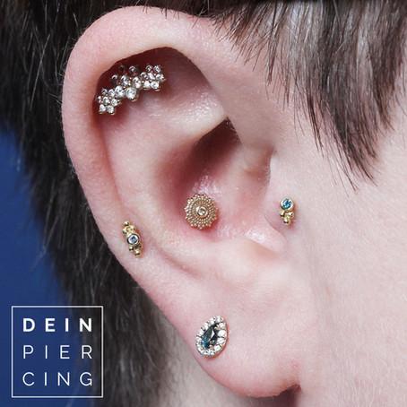 Curated Ears - DER Piercing Trend