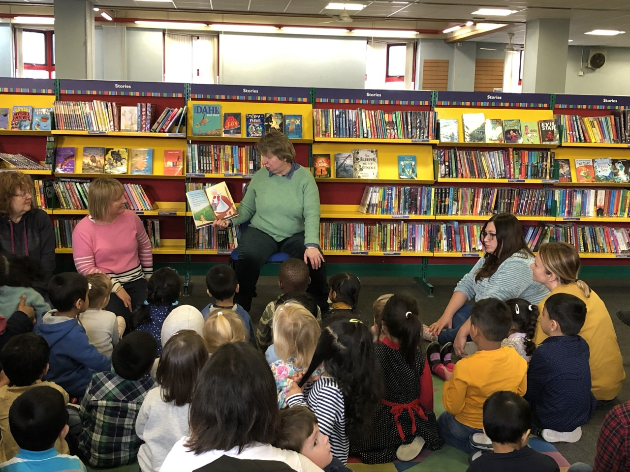 Redhill library trip