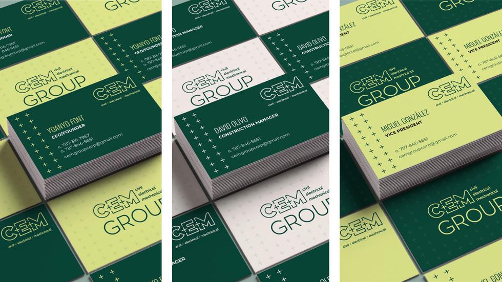 CEM Group Business Cards