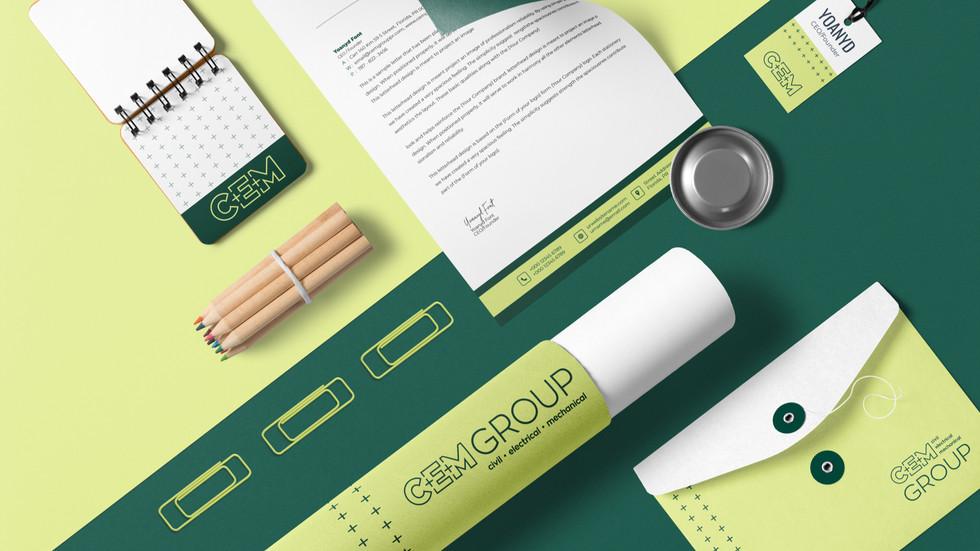 CEM Group Stationery