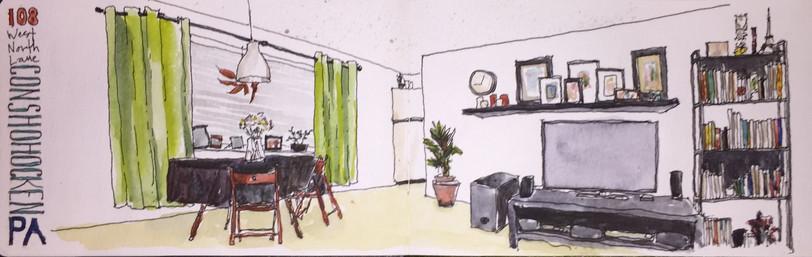 My Apartment in Conshohocken, PA