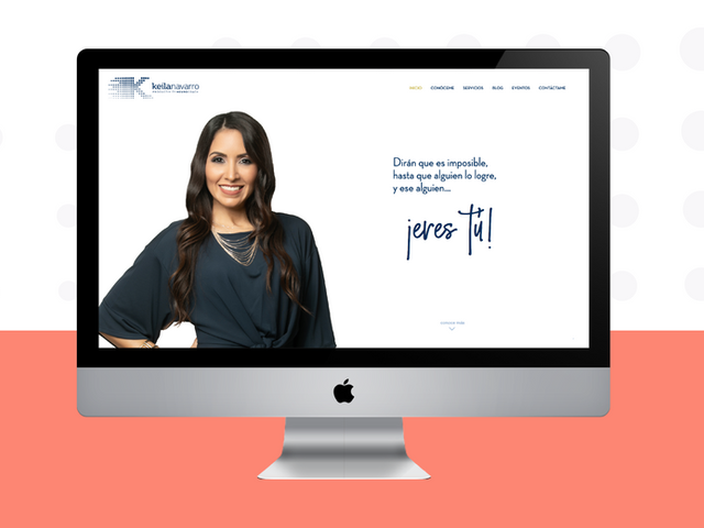 Keila Navarro Website
