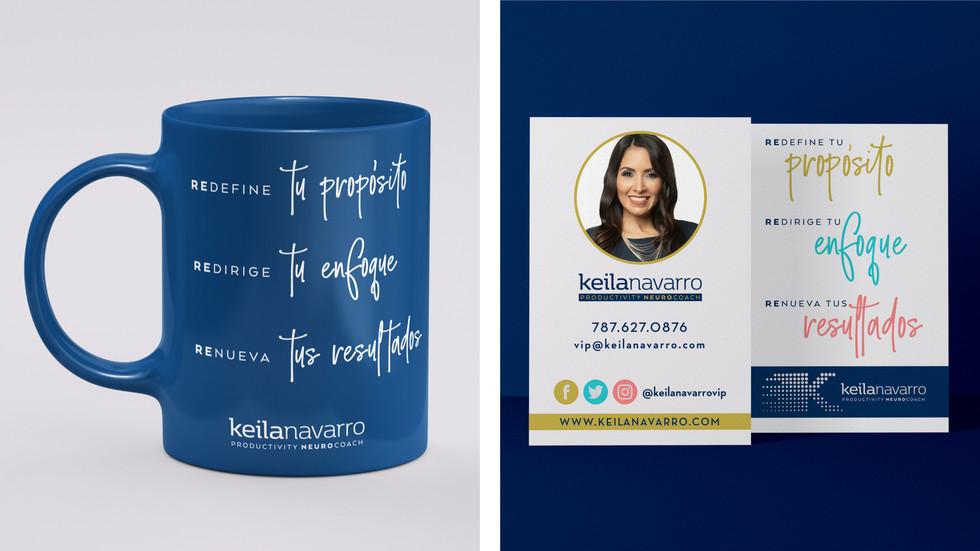 Keila Navarro Brand Identity