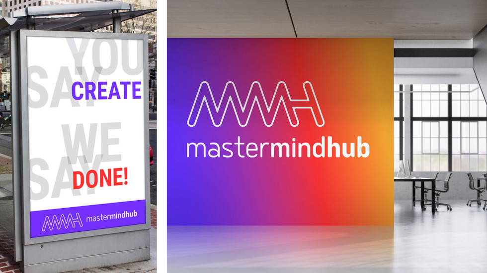 Mastermind Hub Murals