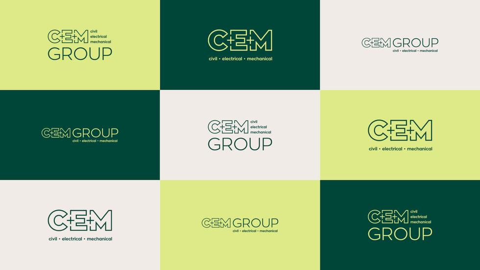 CEM Group Logos