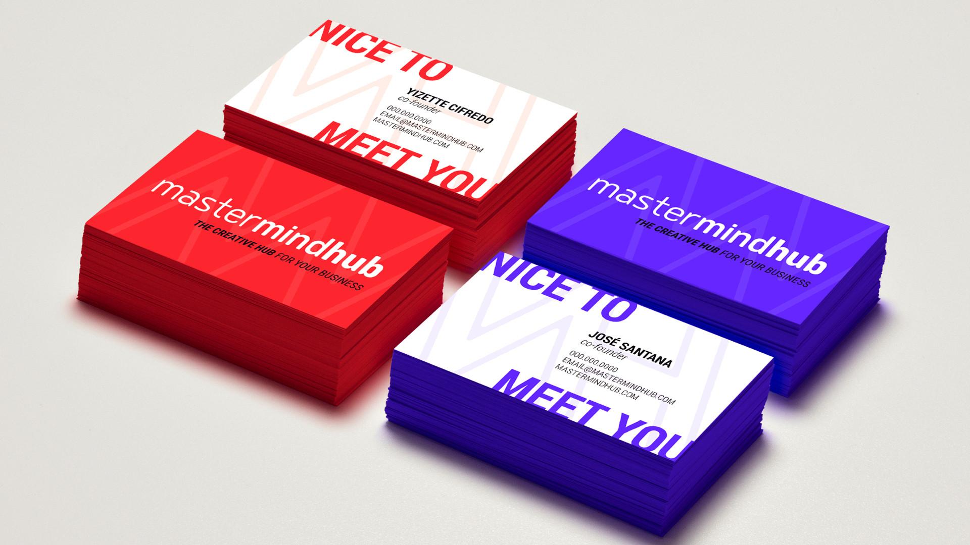 Mastermind Hub Business Cards