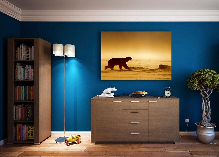 wall print poster arctic polar bear melissa schäfer fredrik granath svalbard