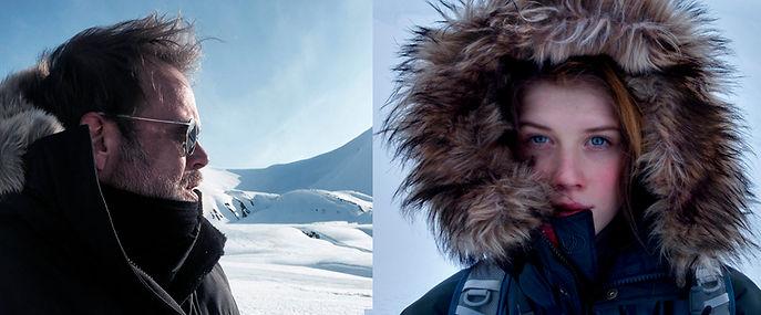 Fredrik Granath Melissa Schäfer Arctic Svalbard Polar bear Freya