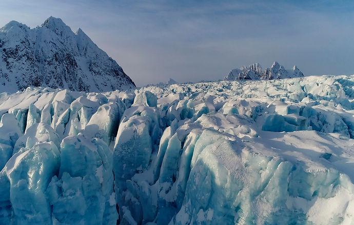 Arctic glacier Fredrik Granath Melissa Schäfer