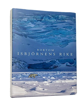 """Bortom isbjörnens rike"" Swedish book"