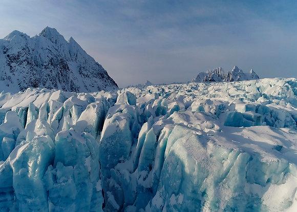 "Fine art print ""Ancient World of Ice"""