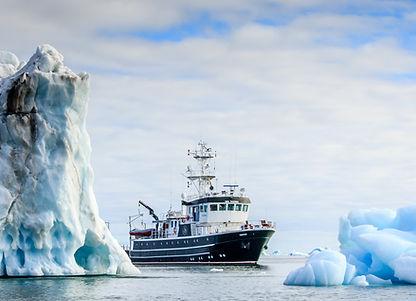 arktis expedition foto ice abenteuer