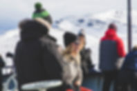 Guests on Svalbard cruise