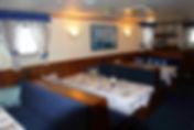 MS Freya dining room