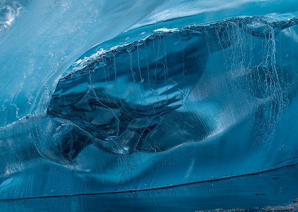"Fine art print ""Blue Ice"""