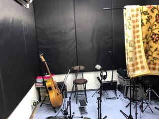 今日はレコーディング
