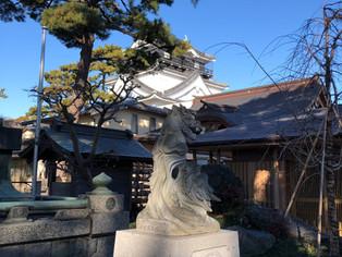 今日の岡崎城