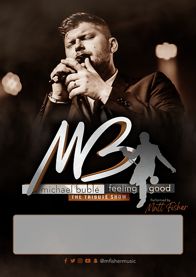Feeling Good Tribute Show Promo Poster