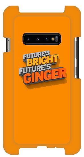 Wrap Around Phone Case: Future's Bright, Future's Ginger