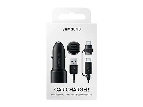 Samsung Car Charger Combo