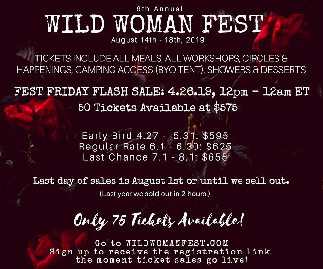 Wild Woman Fest '19 Pricelist - hi resol