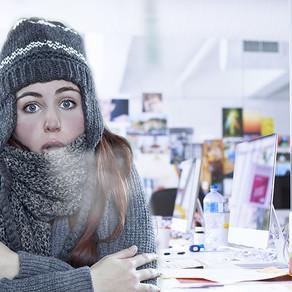 El uso del aire acondicionado afecta la productividad laboral