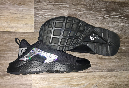... bling Nike air Huarache Ultra breath shoes. Swarovski Crystal ... c532ff581516