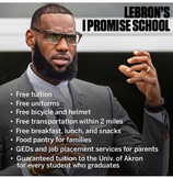 The Power of Sports: LeBron James Schools Us on Giving Back