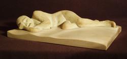 Peace in Sleep 2012 stonewear, wood