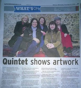 Our very own Dawn Dominic and Gabrielle Smolarz exhibit at the Oriental Splendour in Hitchin during