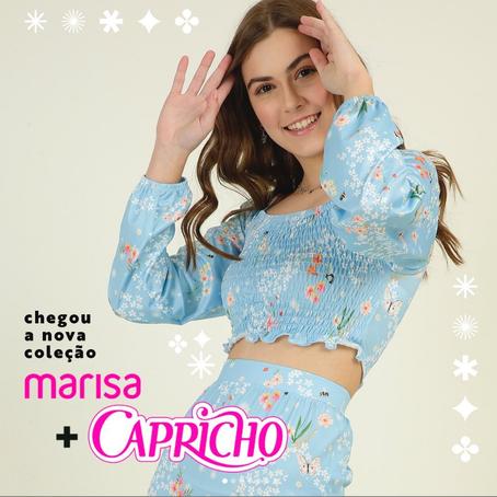 Marisa lança nova coleção em parceria com Capricho