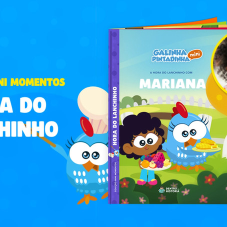 Semana especial Galinha Pintadinha Mini com Dentro da História