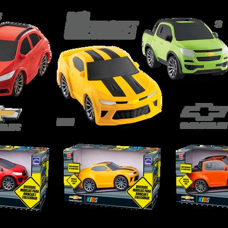 Chevrolet apresenta lançamentos de produtos licenciados na Abrin 2019