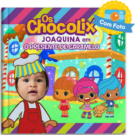 Os Chocolix estreiam na Sweet Books!