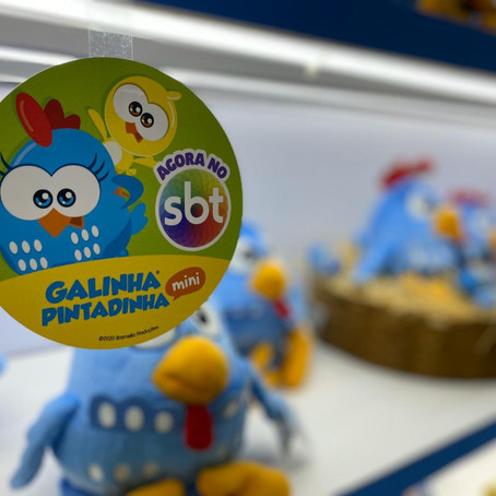 Galinha Pintadinha marca presença na ABRIN 2020 com ativações e muitas novidades