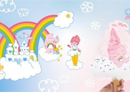 Dona Nuvem lança linha de sorvetes dos Ursinhos Carinhosos