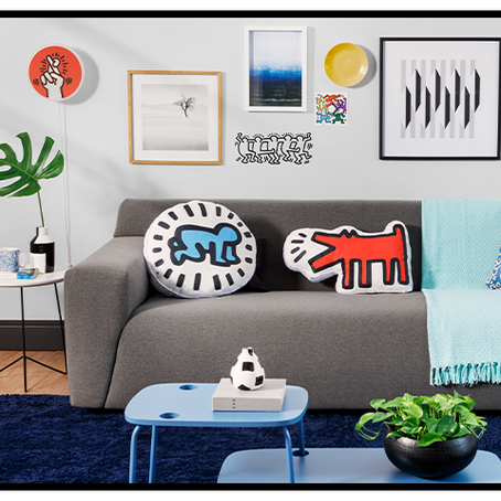 Tok&Stok lança campanha exclusiva em homenagem as obras de Keith Haring