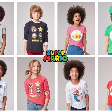 Hering Kids lança coleção Super Mario