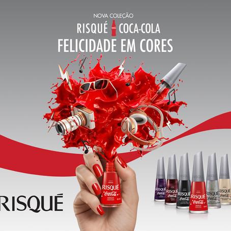 Risqué lança coleção de esmaltes em parceria com a Coca-Cola!