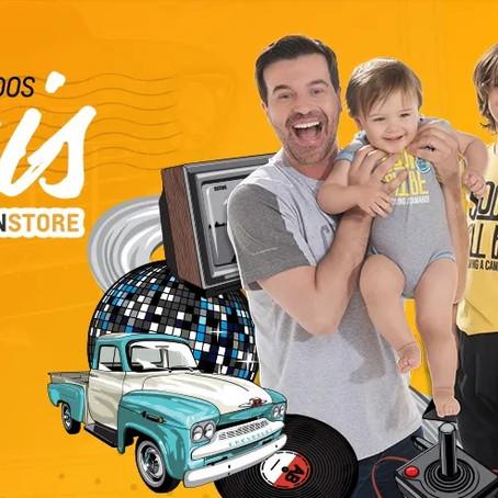 Chevrolet Fan Store vende produtos com descontos exclusivos para o Dia dos Pais