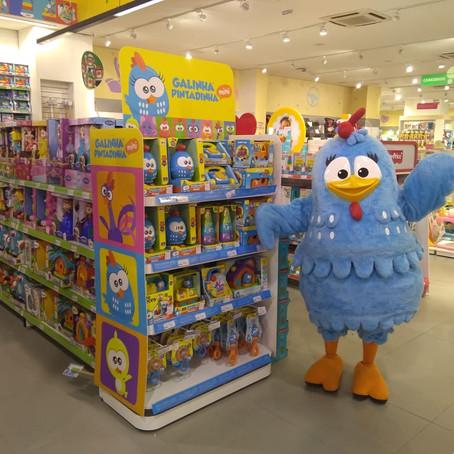 Faturamento dos produtos da Galinha Pintadinha cresce 32% no Dia das Crianças de 2018