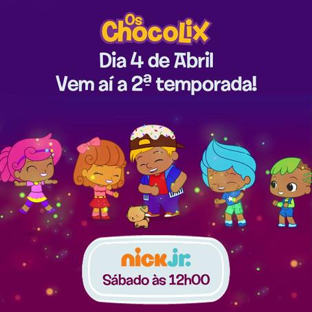 Os Chocolix estreia segunda temporada na Nick Jr.