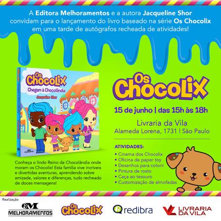 R.Lab terá seu primeiro lançamento editorial com Os Chocolix