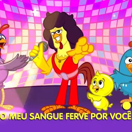 Galinha Pintadinha lança novo clipe e canta sucesso de Sidney Magal