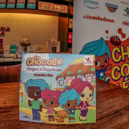 """Lançamento do livro """"Os Chocolix Chegam à Chocolândia"""" é sucesso com evento em São Paulo"""
